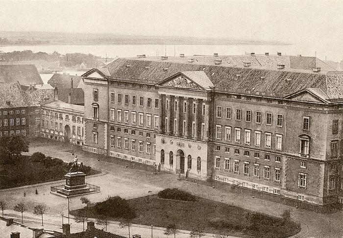 C.F. Hansen: Christiansborg Slot, København, 1800-1828