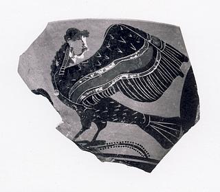 Kyathos med sirene. Græsk