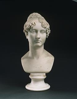 Thorvaldsen: Harriet Frances Pellew, marmor, 56 cm, Philadelphia Museum of Art, inv. no. 1994-1-1