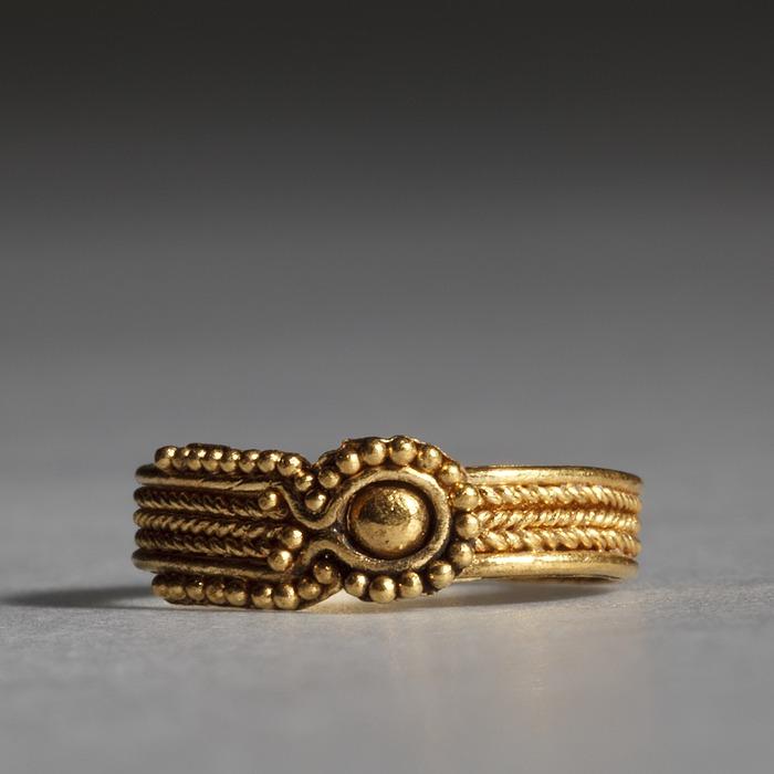 Fingerring. Etruskisk