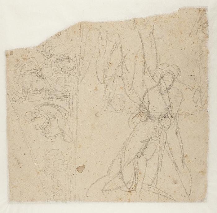 Achilleus og Penthesilea. Fronton til Råd- og Domhuset