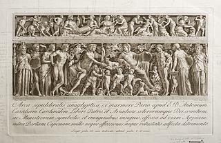 Casali-sarkofagen med Dionysos og Ariadne