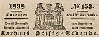 Aarhus Stifts-Tidende, logo