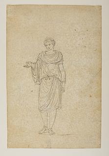 Romersk offertjener, såkaldt camillus