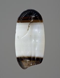 Afrodite og en gås. Etruskisk ringsten