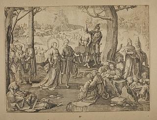 Maria Magdalena blandt det verdslige livs glæder
