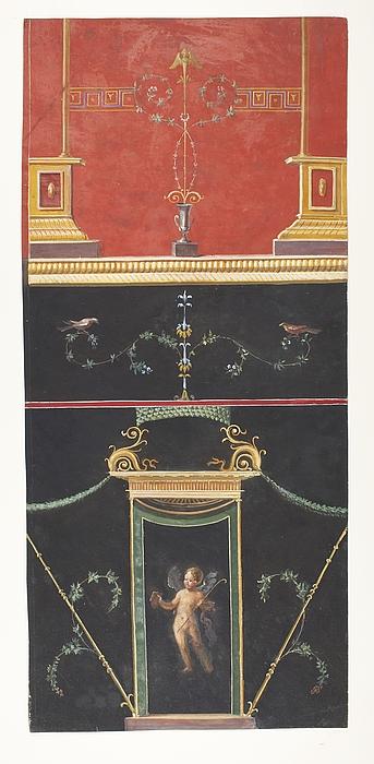 Vægdekoration (?) fra Napoli