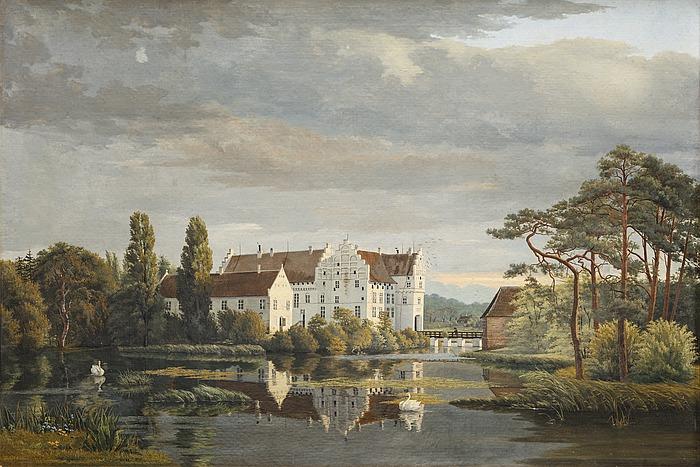 Herregården Gisselfeld på Sjælland