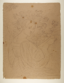 Kvinde i renæssancedragt