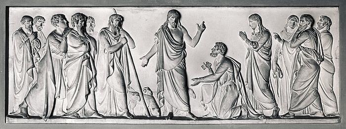 Kristus overdrager nøglerne til Sankt Peter