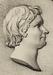 Thorvaldsens Museums laksegl med portræt af Thorvaldsen