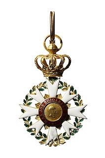 Kommandørkors til den bayerske krones civilfortjensteorden, revers