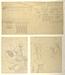 Parthenon (?), korintisk kapitæl, friser og konsolprofiler. Figurer fra Kristi gravlæggelse. Erechteion-karyatider