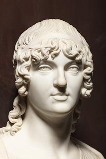 Thorvaldsen: Jevdokija Ivanovna Golitsyna, 1803-1804, marmor, 73,1 cm, foto Jakob Faurvig