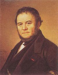Olof Johan Södermark (1790-1848): Stendhal (Marie-Henri Beyle)