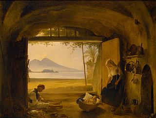 En napolitansk fiskerfamilie