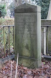 J.F. Schouws gravmæle på Assistens Kirkegård