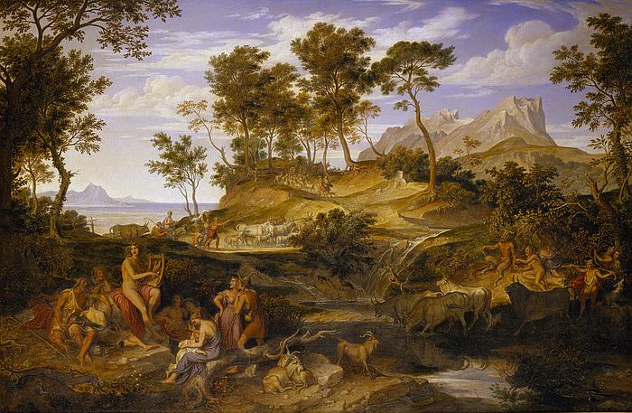 Apollon mellem thessaliske hyrder