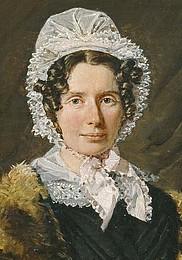 C.A. Jensen, Portræt af Bolette Puggaard, udsnit