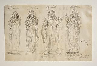 Profeterne Esaias, Jeremias, Esekiel og Daniel