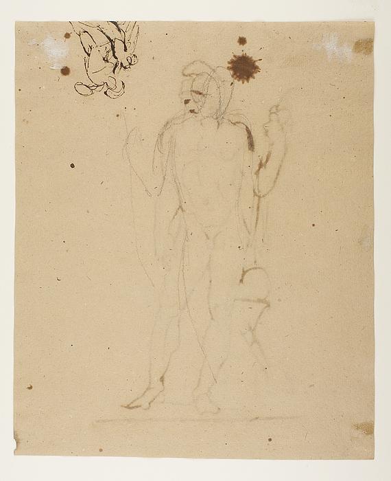 Achilleus og Penthesilea. Paris(?)