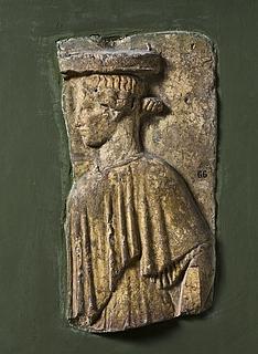 Campanarelief med kvinde med kurv (kanoun). Romersk