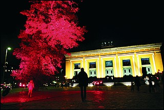 Kulturnatten 2003 - Copyright tilhører Thorvaldsens Museum
