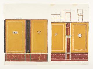 Vægdekorationer fra Castor og Pollux hus