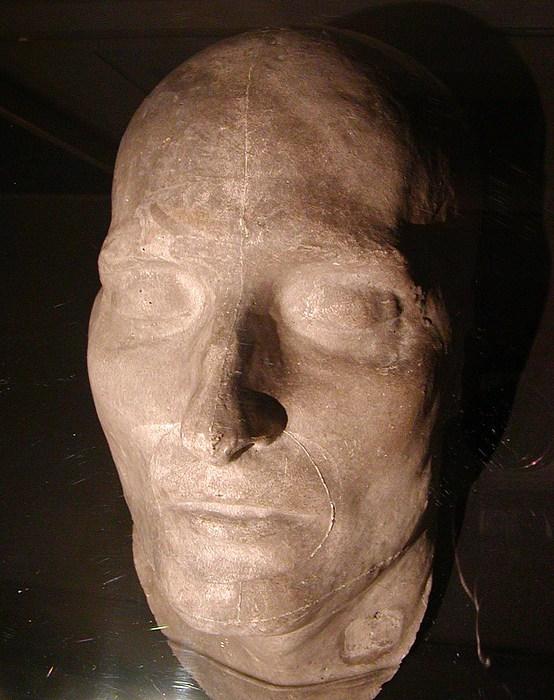 Napoleon Bonaparte, dødsmaske