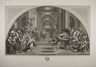 Heliodors uddrivelse af templet