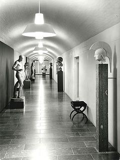 Søndre korridor fotograferet i 1971