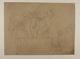 Amor og den unge Bacchus stamper druer, Høsten