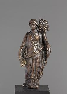 Fortuna. Romersk statuette