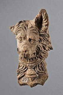 Spygat i form af en hund. Romersk