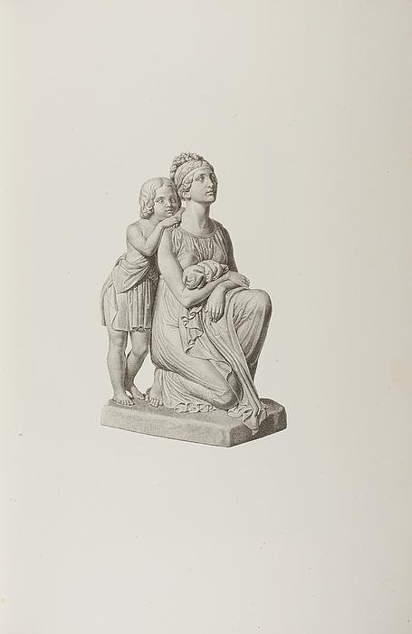 En mor med sin søn