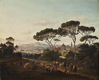 Udsigt over Firenze