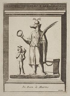 Hapokrates og Anubis