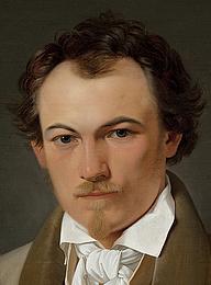 Ditlev Blunck: Portræt af teatermaler Troels Lund, 1831