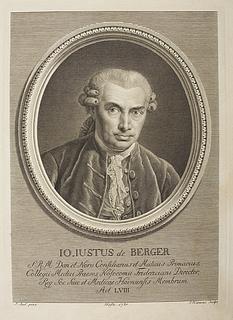 Johann Chilian Just von Berger
