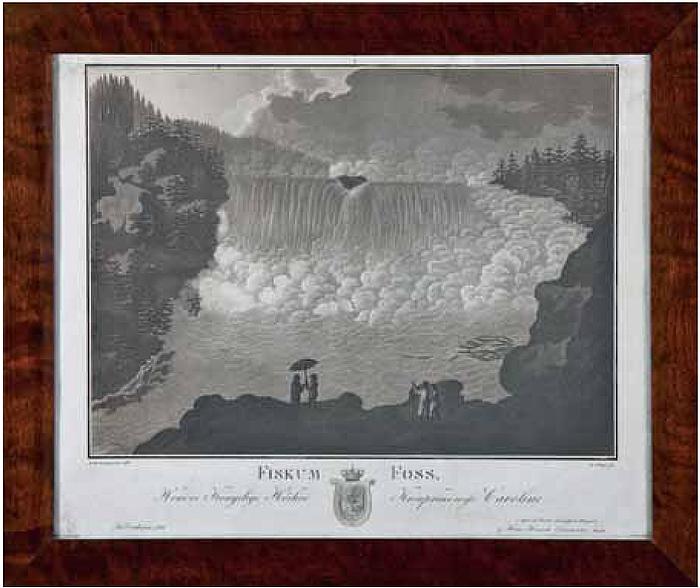 Hans Henrik Gunnerus, Fiskum Foss i Norge, 1811
