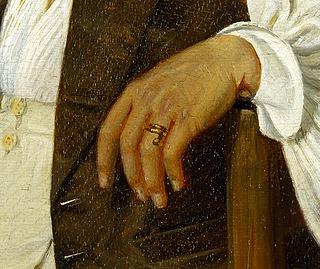 D. C. Blunck: Danske kunstnere i osteriet La Gensola (Detalje) - Copyright tilhører Thorvaldsens Museum