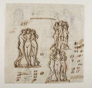 Gratierne. Herkules, Omfale og Amor