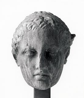 Skulptur af Merkur. Romersk