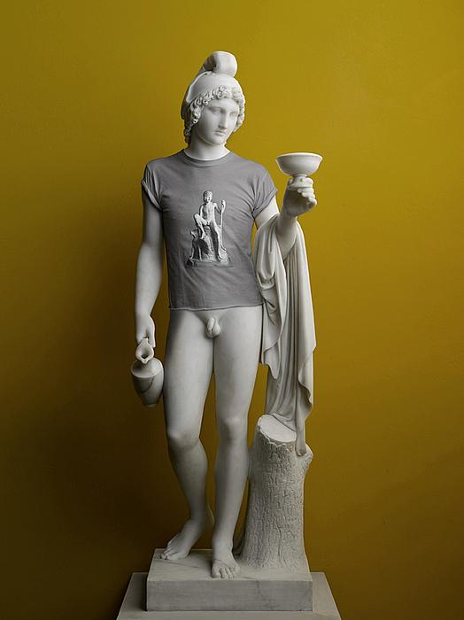Elmgreen & Dragset: Ganymede (T-shirt), 2009
