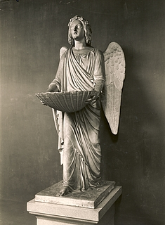 Bertel Thorvaldsen: Dåbens engel, 1823 - Copyright tilhører Thorvaldsens Museum