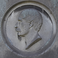 Gravmæle for H. Berges, Cimitero Acattolico