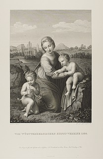 Maria med Jesus og Johannes ( Esterházy Madonna )
