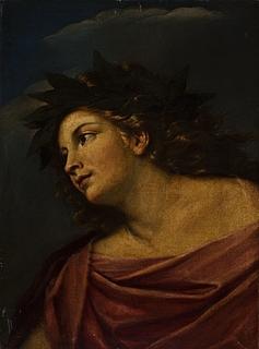 Apollon med laurbærkrans