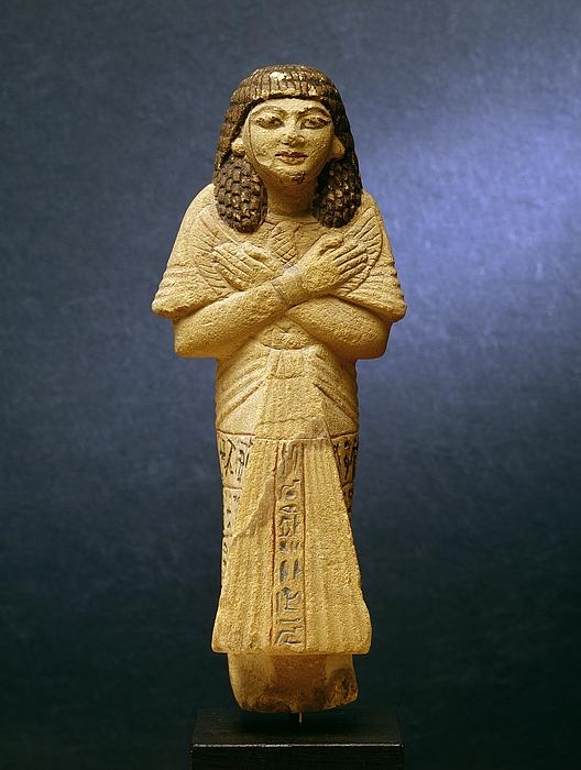 Ushabti. Ægyptisk, nittende dynasti