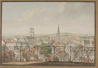 Udsigt over København fra Rundetårn